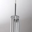 Hängeleuchte, Chromfarben / Metall Acryl 1*5W Led Cob 400Lm 3000K Gluehbirne Inklusive, 631012801