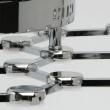 Hängeleuchte, Chrome/Metall+Aluminium Weiß/Akryl 30W Led 3000K 2400Lm Led Inklusive, 631014301
