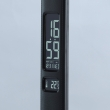 Tischleuchte, Black/Acrylic 7W Led 3000/4500/6000K 420Lm Dimmer (5 Sections) Calendar Tromometer Clock Alarm Clock Usb Cable, 631034901