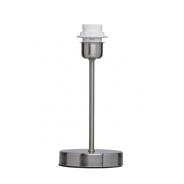 Tischleuchte, Geschliffene Nickelfarbe / Metall 1*60W E27, 634031901