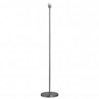 Stehleuchte, Geschliffene Nickelfarbe / Metall 1*60W E27, 634042001