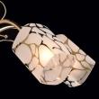 Deckenleuchte, Franzoesische Goldfarbe / Metall Glas 5*60W E14, 638010105