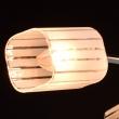 Deckenleuchte, Chromfarben / Metall Glas 8*60W E14, 638011808