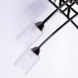 Deckenleuchte, Perlenschwarze Farbe/Metal Glas 8*60W E14, 638011908