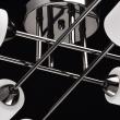 Deckenleuchte, Pearl Black Color / Metal Glass 8*60W E14, 638012108