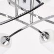 Deckenleuchte, Chromfarben/Metall Glas 8*60W E14, 638012208