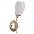 Wandleuchte, Pear Gold+France Gold/Metal White/Glass 1*60W E14, 638026601