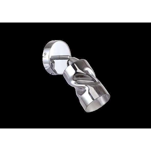 Wandleuchte, Chrome/Metal Smoke/Glass 1*40W E14, 638027101