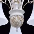 Kronleuchte, Matte Weisse Und Goldfarbe / Metall Glas 5*60W E27, 639011405