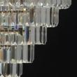 Hängeleuchte, Gold/Metal Transparent/Crystal 5*60W E14 2700K, 642010805