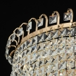 Hängeleuchte, Gold/Metal Transparent/Crystal 5*60W E14 2700K, 642011005