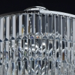 Deckenleuchte, Chrome/Metal Transparent/Crystal 8*60W E14, 642013008