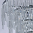 Deckenleuchte, Chrome/Metal Transparent/Crystal 5*60W E14, 642013305