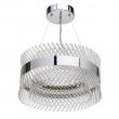Hängeleuchte, Chrome/Metal Transparent/Glass 34W Led 4080 Lm 4000K, 642013601