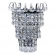 Wandleuchte, Chrome/Metal Transparent/Crystal 1*60W E14, 642022801