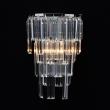 Wandleuchte, Chrome/Metal Transparent/Crystal 1*60W E14, 642023401