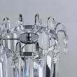 Tischleuchte, Chrome/Metal Transparent/Crystal 1*60W E14, 642033101