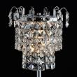 Tischleuchte, Chrome/Metal Transparent/Crystal 1*60W E14, 642033201