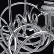 Kronleuchte, Chromfarben / Metall 9*20W G4 Gluehbirne Inklusive, 652010109
