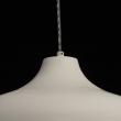 Hängeleuchte, Weiß Matt Farbe /Metall Weiß Mattt Farbe /Concrete 1*40W E27 2700–Ö, 654010901