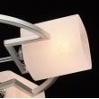 Deckenleuchte, Pearlen Chrome Farbe / Metall Glas 5*60W E14, 673011605
