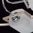 Deckenleuchte, Pearl Gold Color / Metal Glass 5*60W E14, 673011705