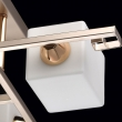 Deckenleuchte, Pearl Gold+French Gold Color / Metal Glass 5*60W E14, 673011905
