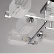 Deckenleuchte, Chrome Color / Metal Glass 8*60W E14, 673013008