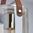 Deckenleuchte, Silver/Metal Champagne/Glass 4*40W E27, 673014604