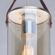 Deckenleuchte, Silver/Metal Champagne/Glass 1*40W E27, 673014801