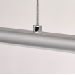 Hängeleuchte, Chrome Color/Stainless Steel Silver Color/Aluminium Matt Acrylic /Lampshade 4*4,8W Led Smd 1530Lm 3000K Led Included Ip20, 675012601
