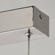 Hängeleuchte, Chrome Color /Stainless Steel Aluminium Frosted Acrylic/Lampshade 3*10W Led Smd 2400Lm 3000K Led Included Ip20, 675012801