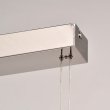 Hängeleuchte, Chrome Color/Stainless Steel Silver Color/Aluminium Matt Acrylic /Lampshade 5*5W Led Cob 1625Lm 3000K Led Included Ip20 Lift, 675013005