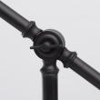 Tischleuchte, Matte Schwarze Farbe / Metall 1*40W E14, 680030401