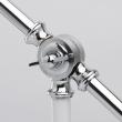 Tischleuchte, Glaenzende Weisse Farbe / Metall 1*40W E14, 680030701