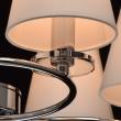 Hängeleuchte, Chrom+Glasklar/Metall+Akryl/8*40W E14 2700K, 692010208