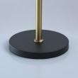 Stehleuchte, Antique Brass+Black/Metal White/Fabric 4*40W E14, 700043704