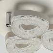 Hängeleuchte, Matt White/Metal Matt White/Plastic White Matt/Acrilic 3*4W Led 3000K Ip20, 704011203