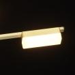 Hängeleuchte, Matt Gold/Metal White/Acrylic 6*5W Led 3000K, 704015506