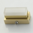 Wandleuchte, Matt Gold/Metal White/Acrylic 5W Led 3000K, 704025301