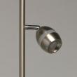 Stehleuchte, Satin Nickel /Metall Satin Nickel/Plastik Weiß/Akryl 3*4W Led 3000K Ip20, 704040503