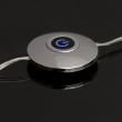 Tischleuchte, Chrome/Metal Matt White/Glass 1*15W Led 3000K Leds Installed, 706030101