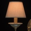 Wandleuchte, Antique Brass/Metal Grey/Ceramics Grey/Fabric 2*40W E14, 713020502