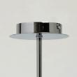 Hängeleuchte, Chrome/Metal Matt White/Metal+Acrylic 5*40W E14 2700K , 721010105