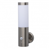 Wandleuchte, Chrome Color / Metal (Stainless Steel) Acrilyc 1*40W E27 Ip44, 809021001