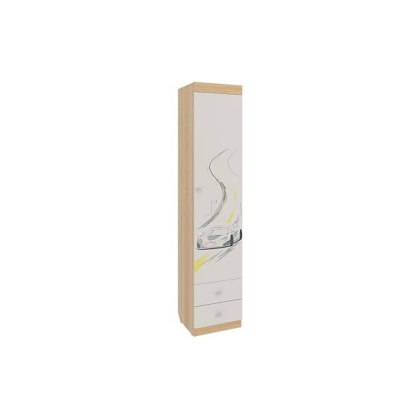 """Шкаф 1-дверный комбинированный с выдвижными ящиками """"Форсаж"""""""