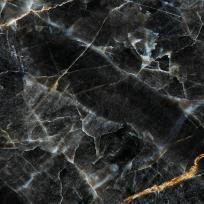 Кухонная/стеновая панель Черный мрамор,  АБС- пластик