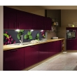 Кухонная/стеновая панель Ягодный дуэт, полимерное стекло