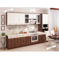 Кухонный гарнитур Каролина 19 (ширина 300 см)