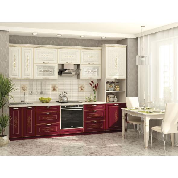 Кухонный гарнитур Виктория 20 (ширина 300 см)